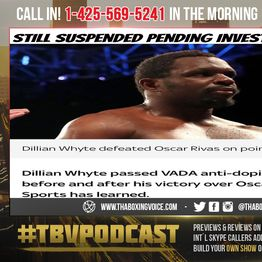 ☎️Whyte Completes VADA💊Testing💉Not Yet In The Clear😱What Does This Mean❓