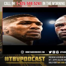 """☎️Anthony Joshua Wants 70% Split vs DEONTAY WILDER """"I Don't Understand Why it Should Be 50/50""""😱❓"""