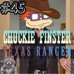 045. Chuckie Finster, Texas Ranger