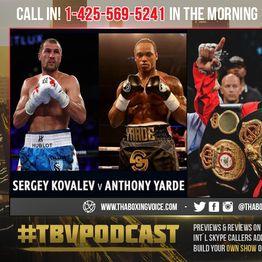 Andre Ward: Sergey Kovalev Stops Yarde Late😱HONESTY or Retaliation to Tunde HATE🤔