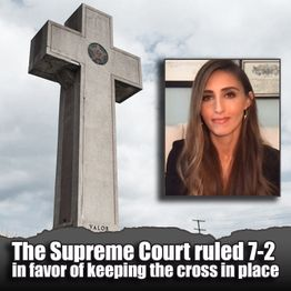 The Supreme Court and The Cross: with Monica Miller