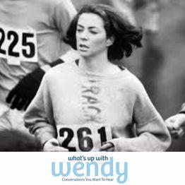 Kathrine Switzer, Boston Marathon Runner