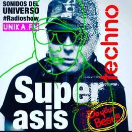 376.-Superasis Presents: Sonidos del Universo #376 RadioLive @Techno NYC.15.09.19