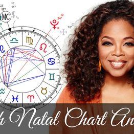 Oprah Winfrey Astrology Chart Analysis