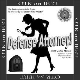 Defense Attorney: Client - Joshua Masters