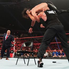 WWE Raw Review: Brock's Brutal Beatdown of Seth l Maria Kanellis 24/7 Champion l Is WWE Turning Becky Lynch Heel?
