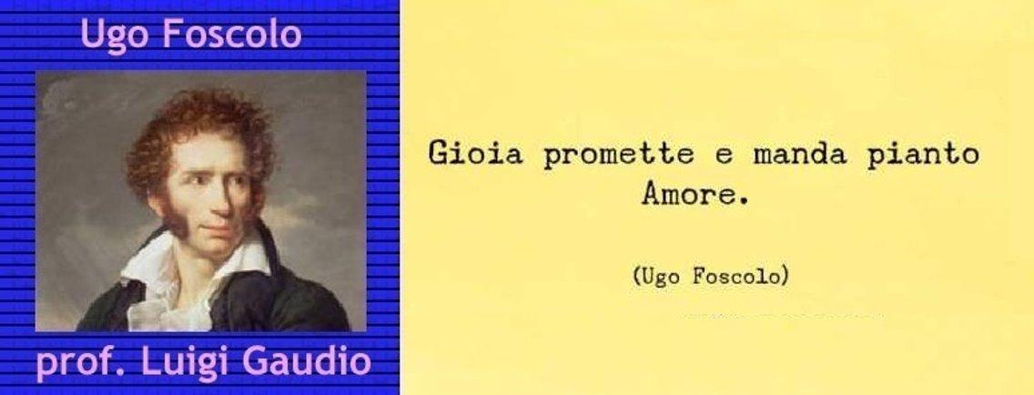 Ugo Foscolo - Cover Image