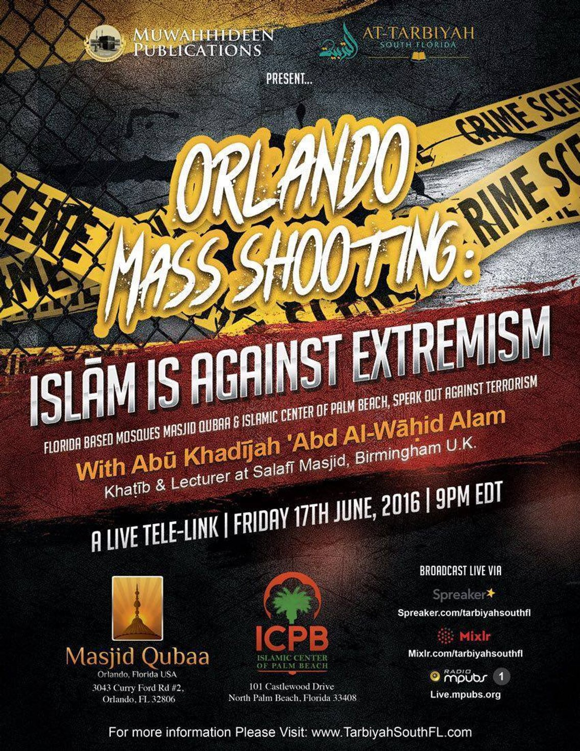 Islam Is Against Extremism-Abu Khadeejah - Cover Image