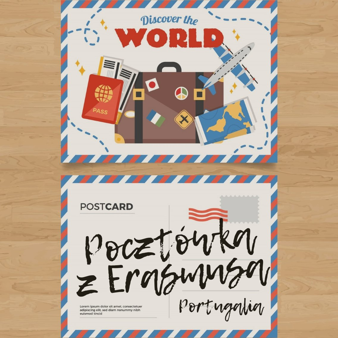 Pocztówka z Erasmusa 2 - Portugalia - imagen de portada