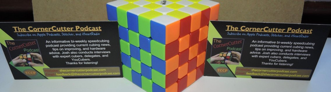 The CornerCutter Podcast: A Cubing Podcast - Cover Image