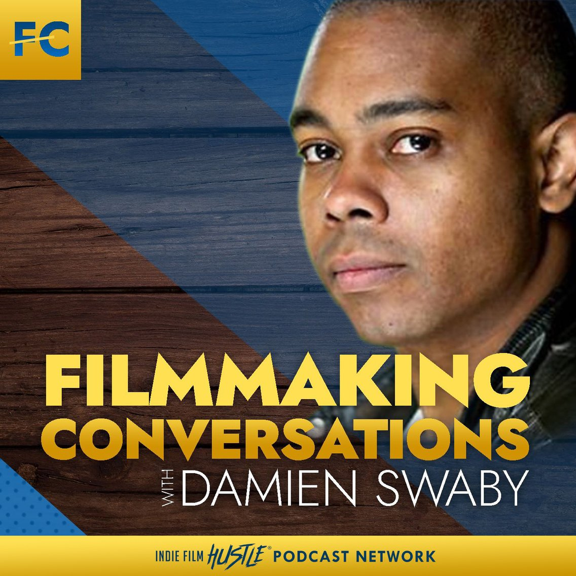 Filmmaking Conversations Podcast with Damien Swaby - Cover Image