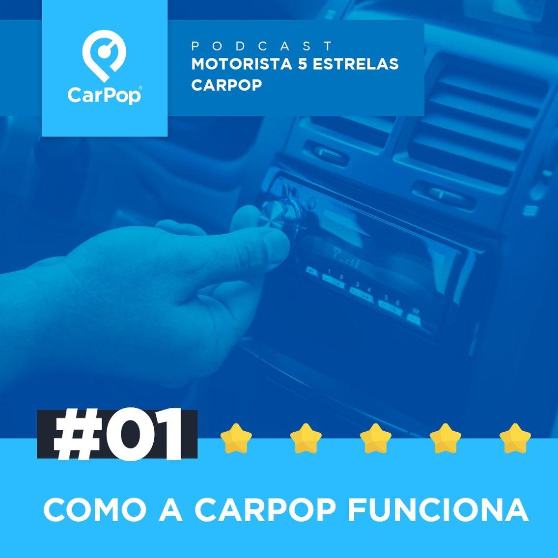 Motorista 5 Estrelas CarPop - Cover Image