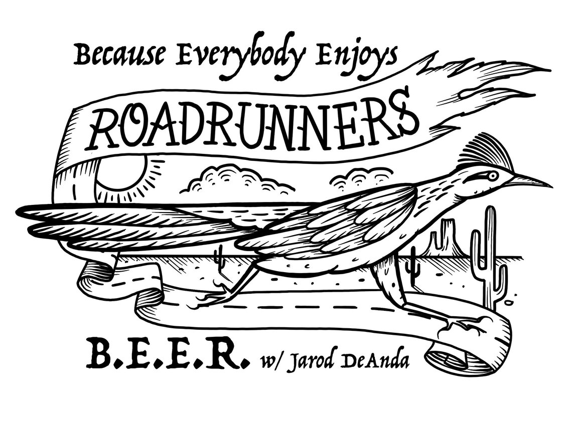 Because Everybody Enjoys Roadrunners - immagine di copertina