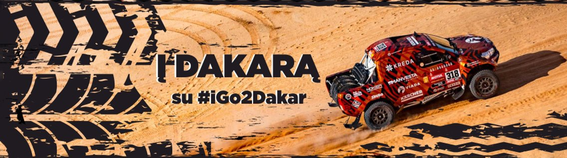 Į DAKARĄ su iGo2Dakar - Cover Image