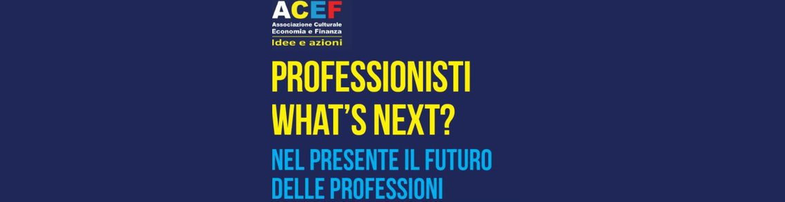 Professionisti What's next? - immagine di copertina