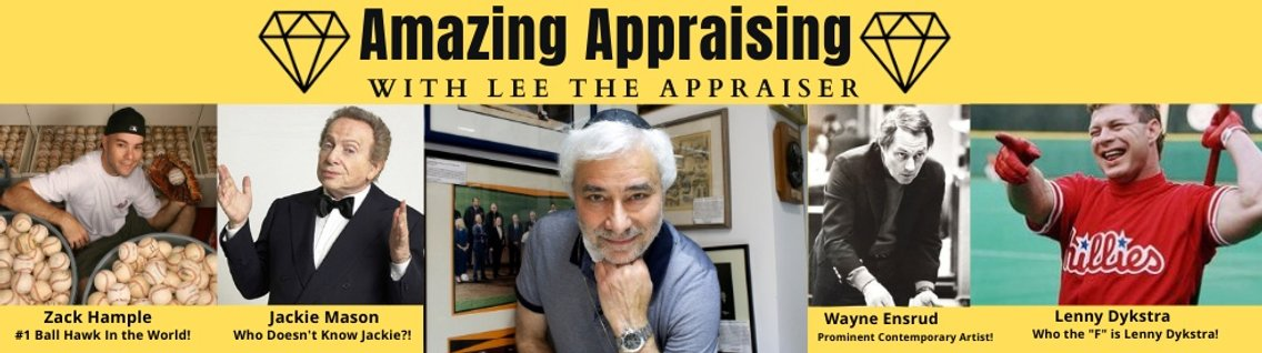 Amazing Appraising with Lee the Appraiser - Cover Image