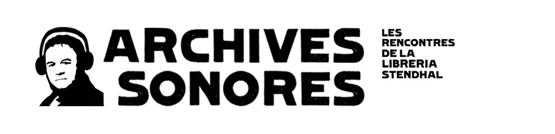Archives sonores - Cover Image