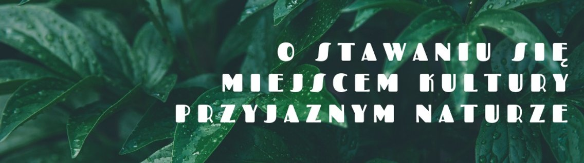 Zielona Instytucja Kultury - Cover Image