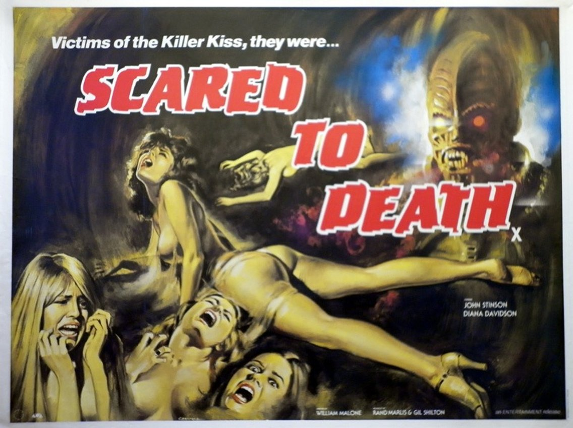 Scared to Death - Cover Image