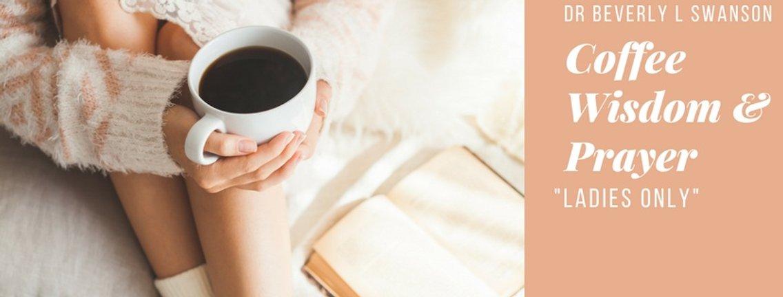 Coffee Wisdom & Prayer - Cover Image