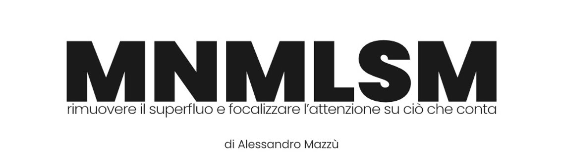 MNMLSM | Minimalismo esistenziale - Cover Image