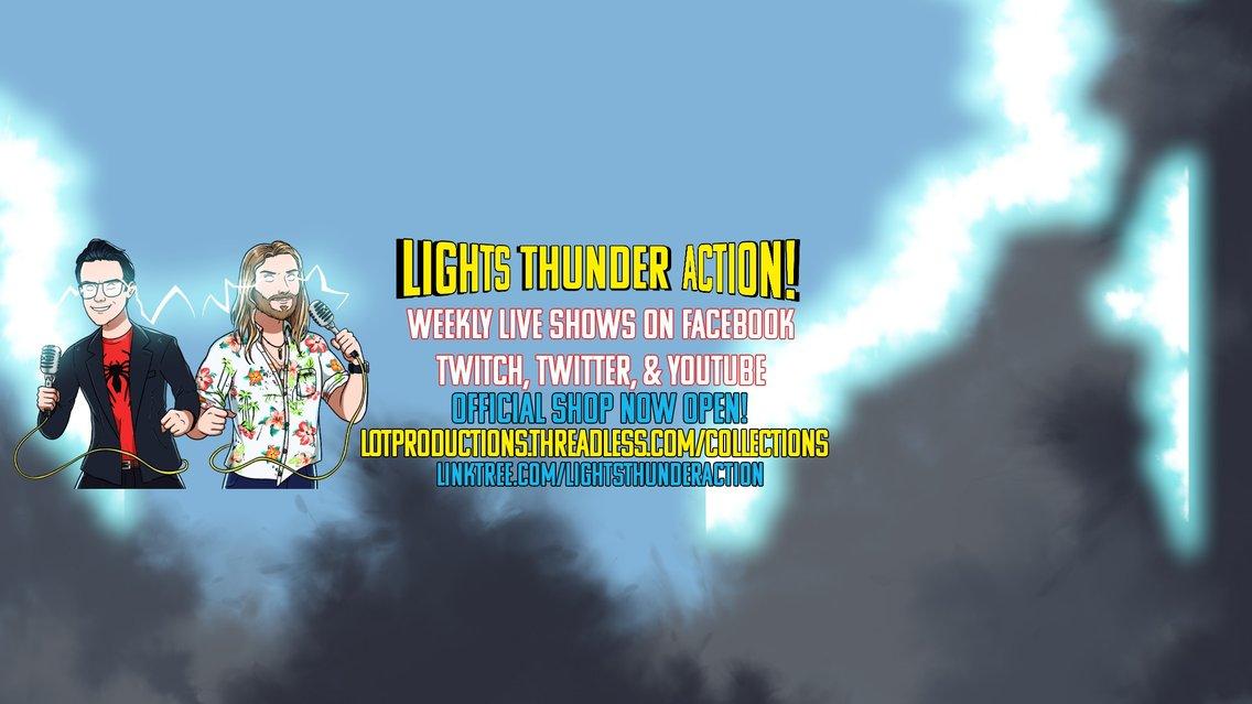 Lights, Thunder, Action! - immagine di copertina