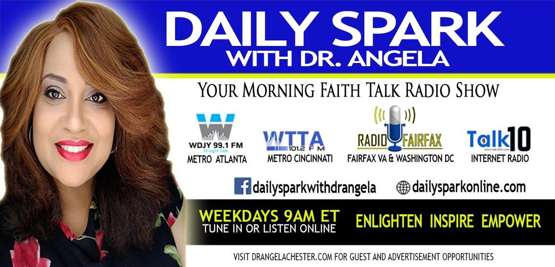 Daily Spark with Dr. Angela - imagen de portada