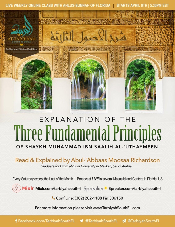 Three Fundamental Principles - Cover Image