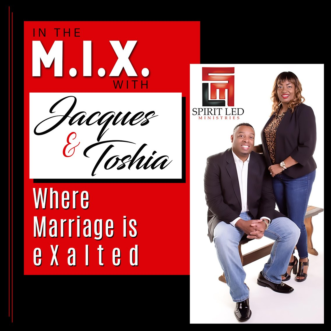 In The M.I.X. With Jacques and Toshia - Cover Image