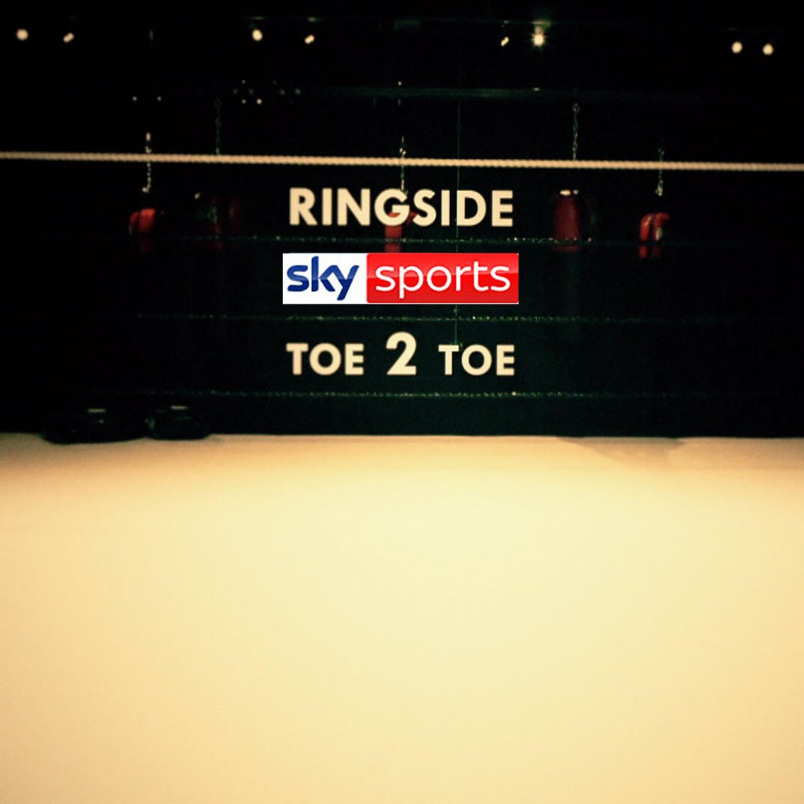 Ringside Toe2Toe Boxing Podcast - Cover Image