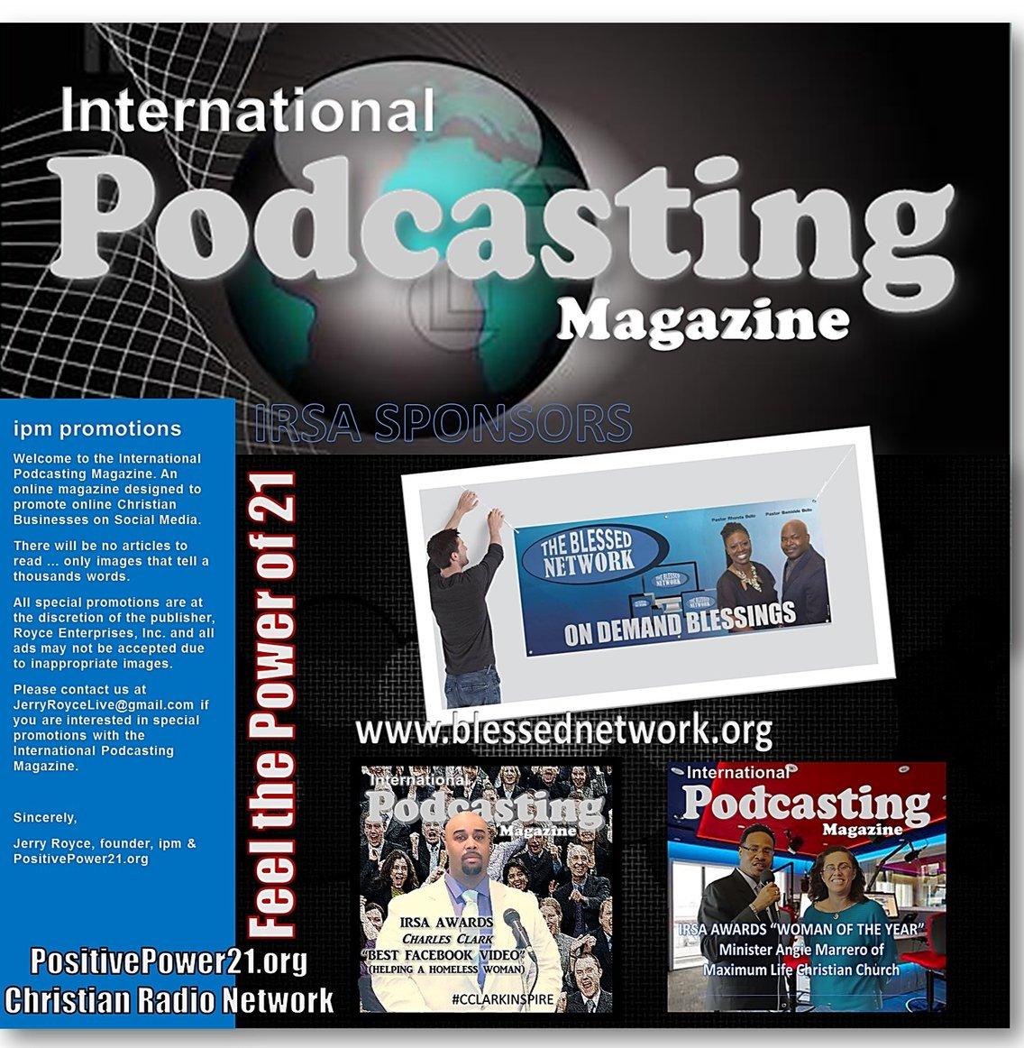 INTERNATIONAL PODCASTING MAGAZINE (IPM) - immagine di copertina