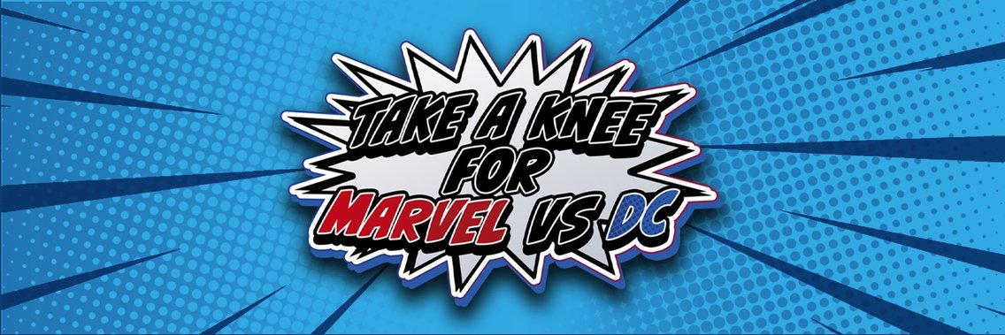 Take A Knee For Marvel Vs DC - Cover Image