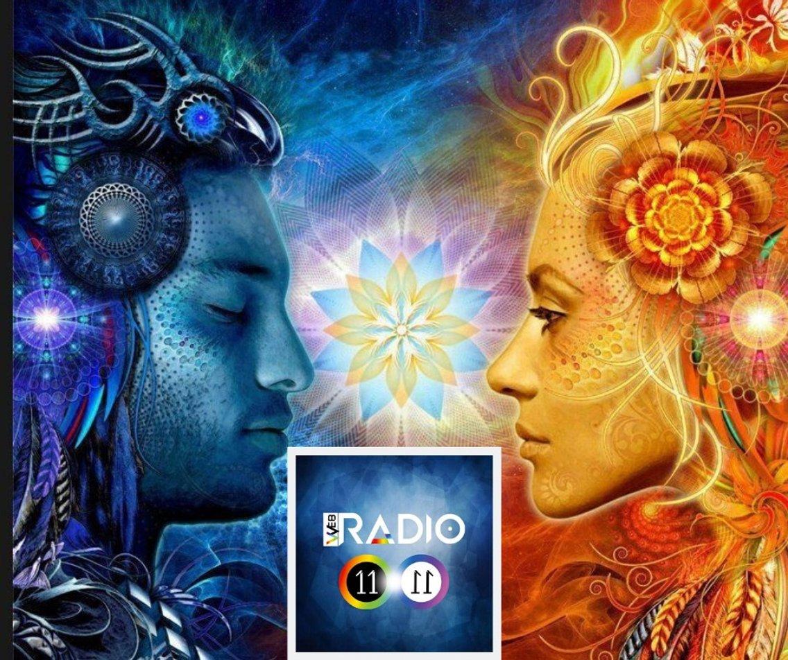 1) ASCOLTA QUI' LA DIRETTA - RADIO 11.11 432 HZ - Cover Image