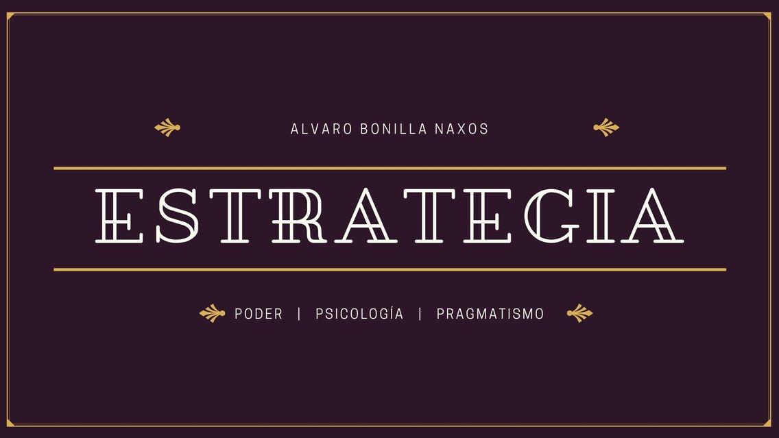 Estrategia y Poder - Cover Image