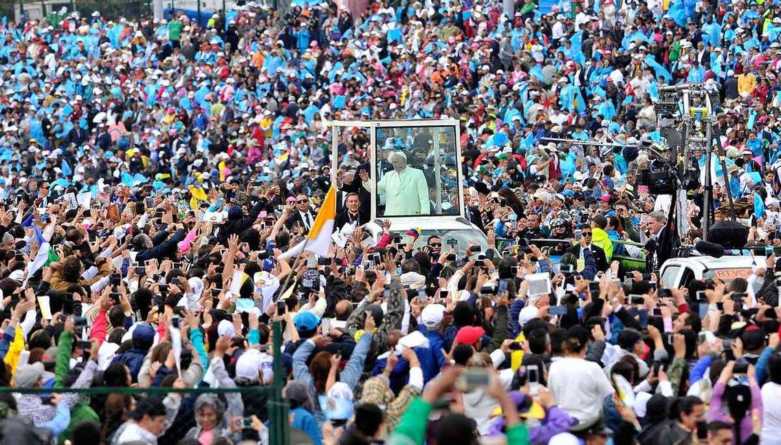 Los discursos de Francisco en Colombia - Cover Image