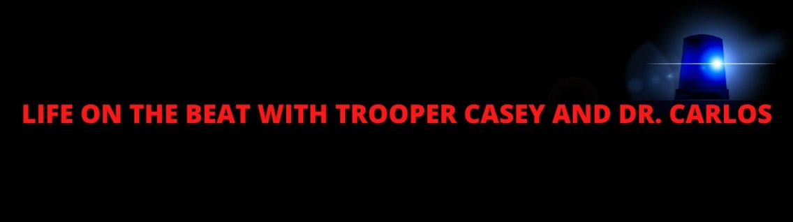 Life on the beat with Trooper Casey - Cover Image