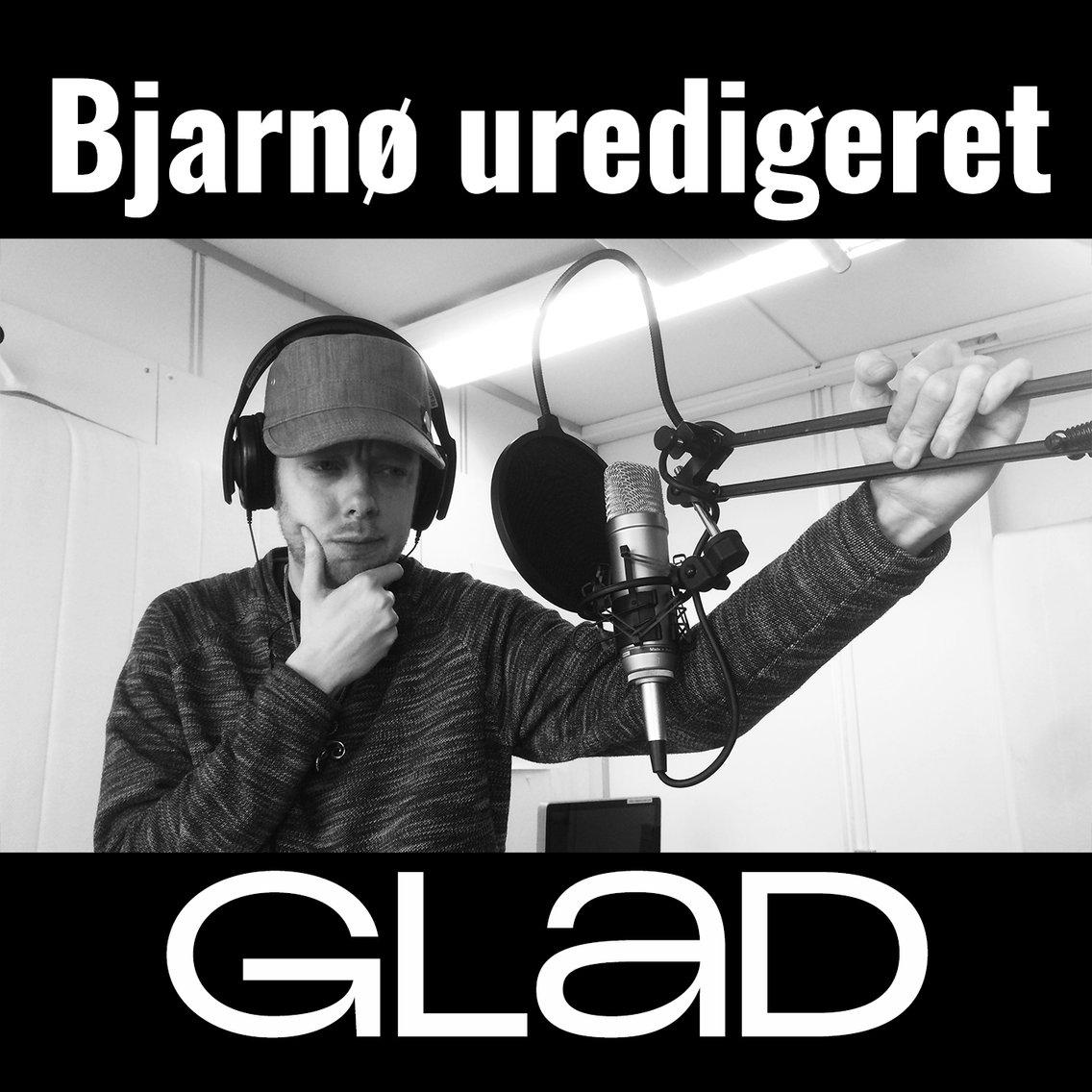 RADIO GLAD - Bjarnø uredigeret - immagine di copertina