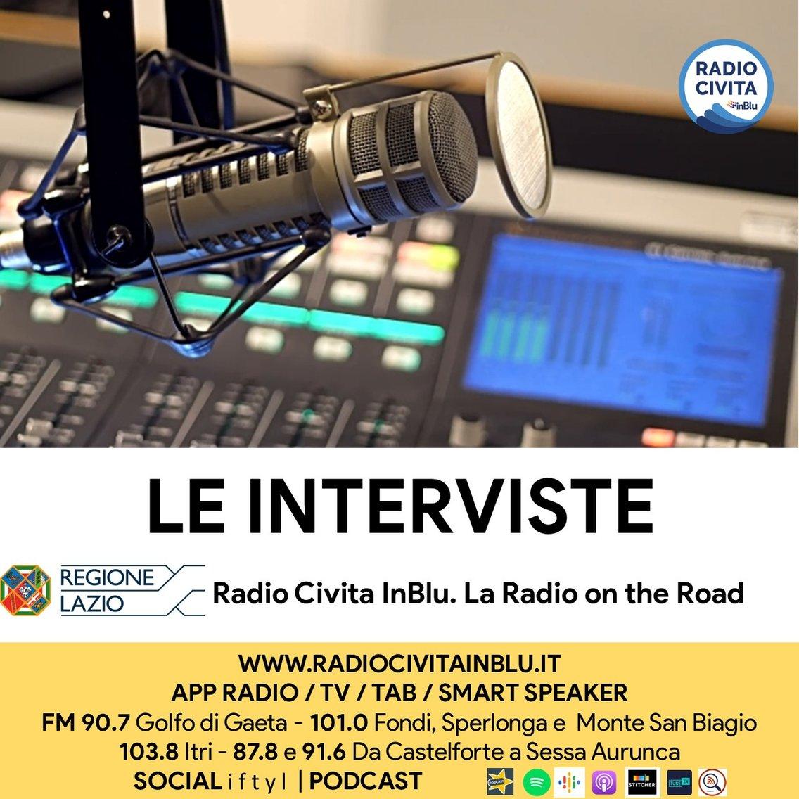 Interviste di Radio Civita InBlu - Cover Image