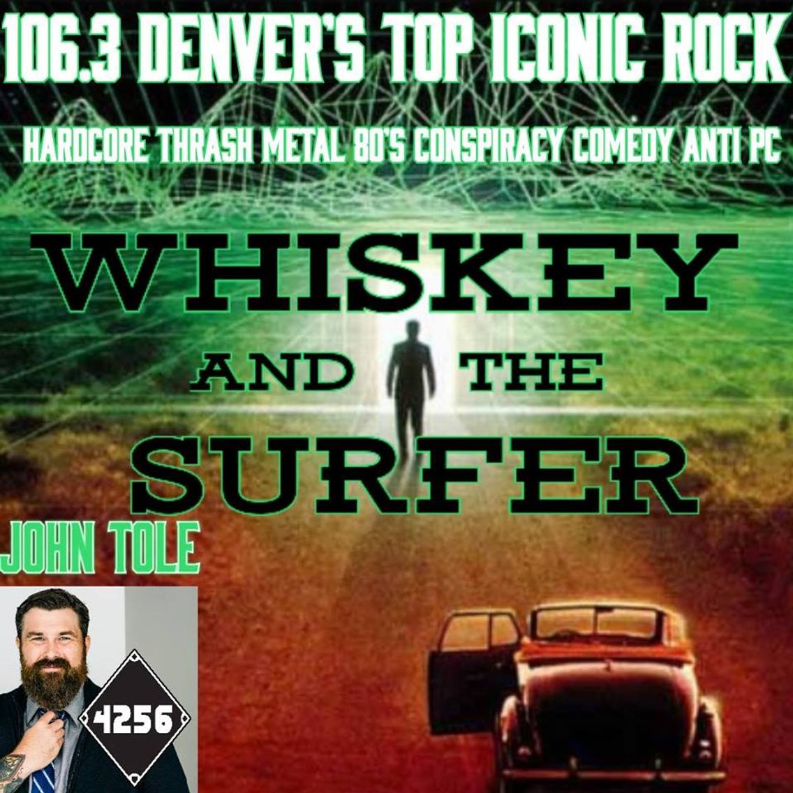 Whiskey and The Surfer - Cover Image