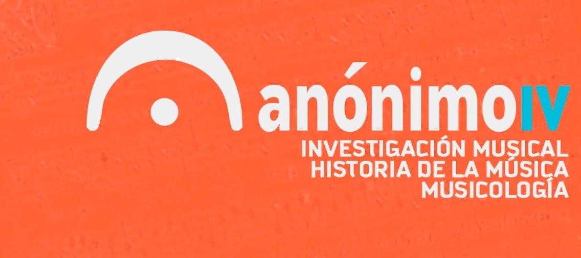 Anónimo IV - immagine di copertina