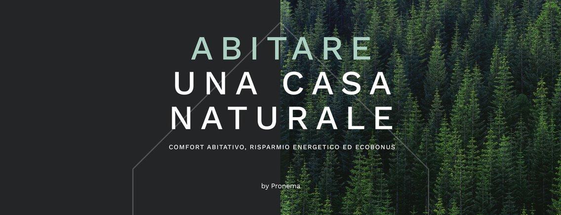 Abitare una casa naturale - imagen de portada