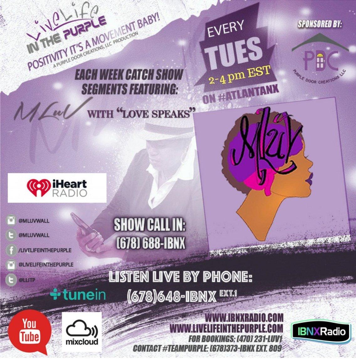 Live Life In The Purple on IBNX Radio - immagine di copertina