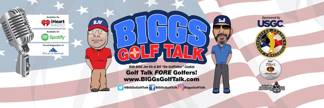 BiGGs GOLF TALK - Cover Image