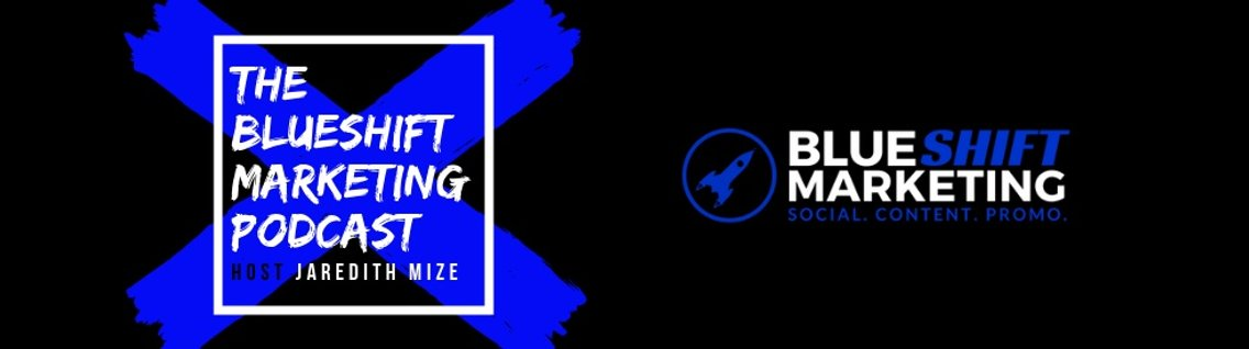 The Blueshift Marketing Podcast - Cover Image