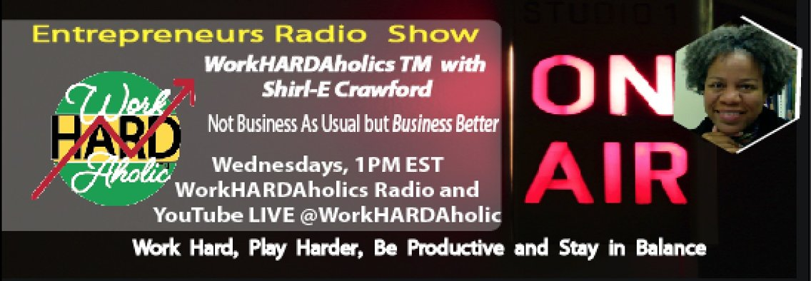 WorkHARDAholicsTM Show - Cover Image