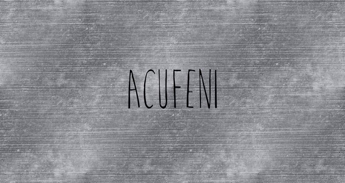 Acufeni - Cover Image