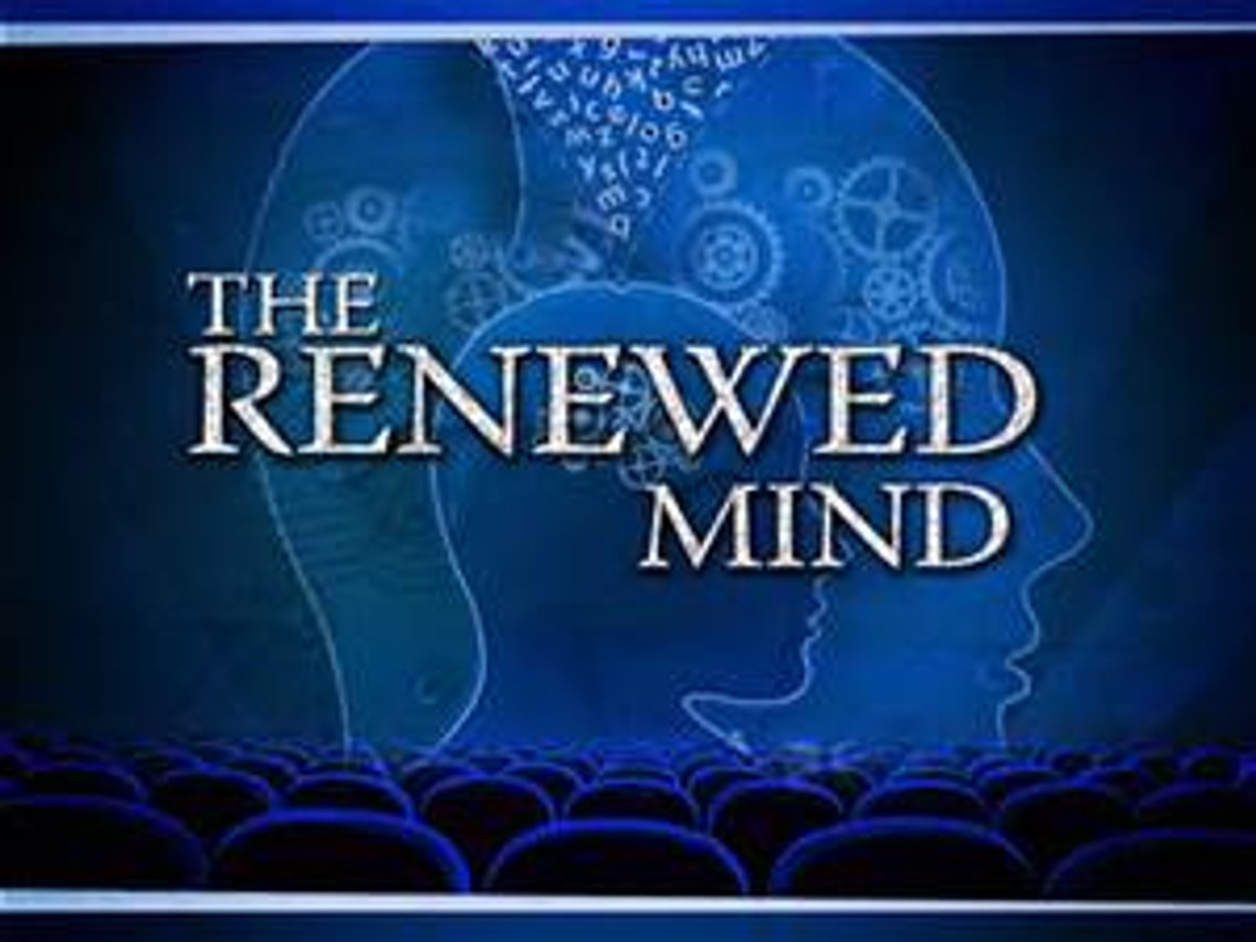 Renewing Your Mind #1 - Cover Image