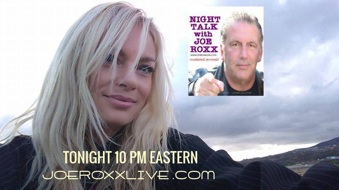 NIGHT TALK with JOE ROXX THURSDAYS 10 PM - imagen de portada