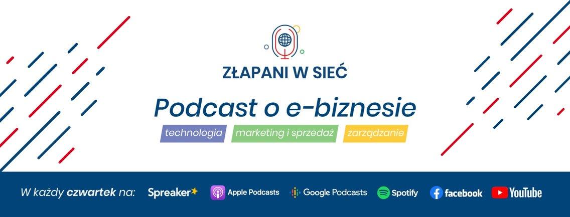 Złapani w sieć - Podcast o e-biznesie. Technologia, marketing i sprzedaż oraz zarządzanie. - Cover Image