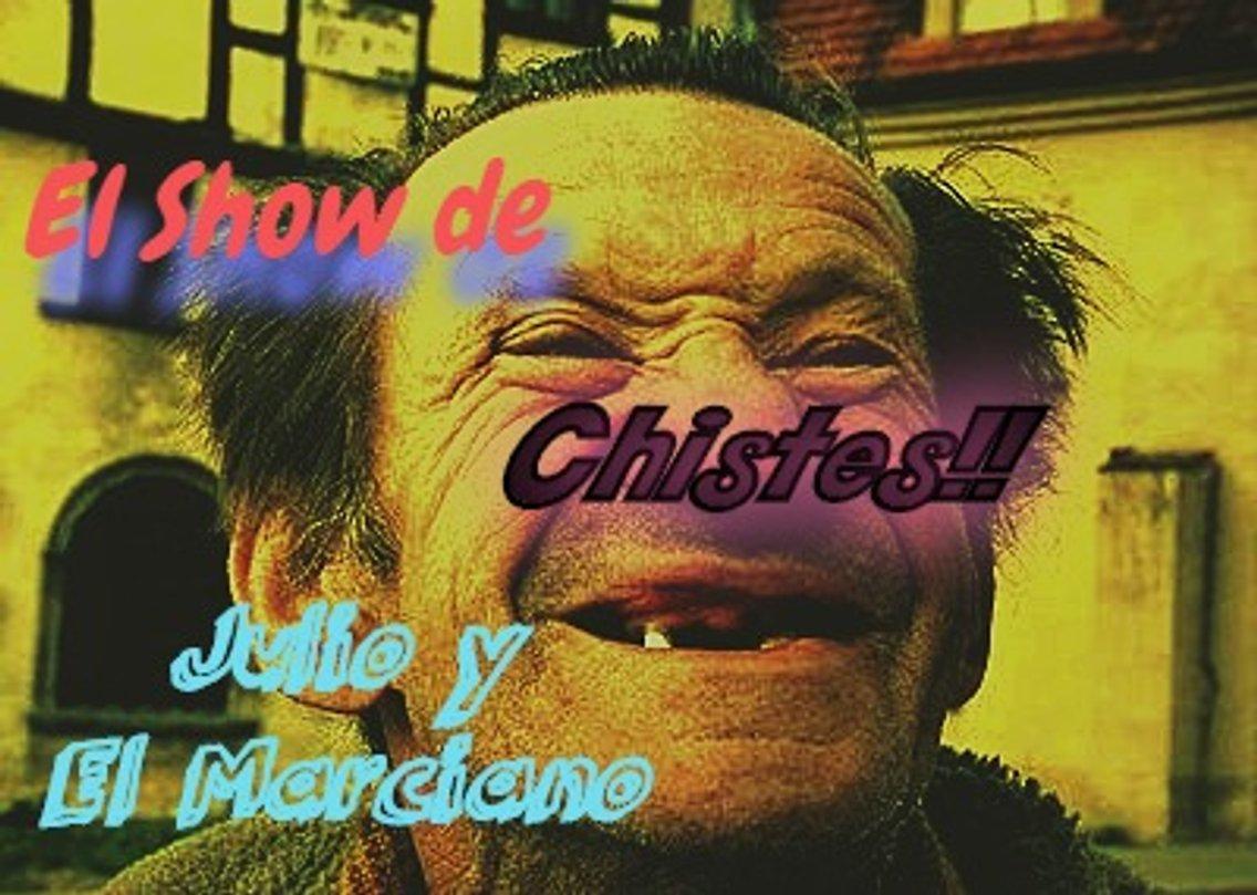 Chistes y Mas con Julio y El Marciano - Cover Image